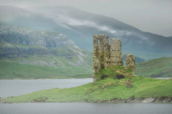 Wall Art - Photograph - Ardvreck Castle by Christian Heeb