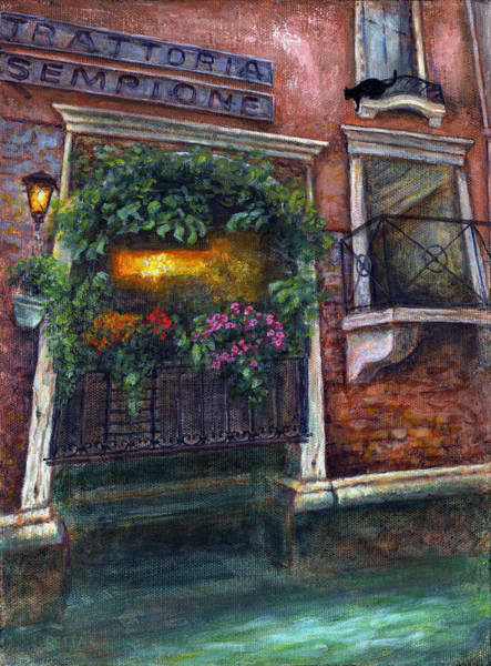 Painting - Are You There My Love? by Retta Stephenson