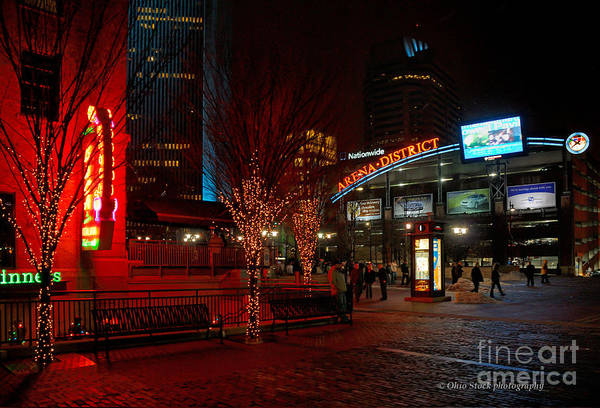 D66l-4 Arena District Photo Art Print