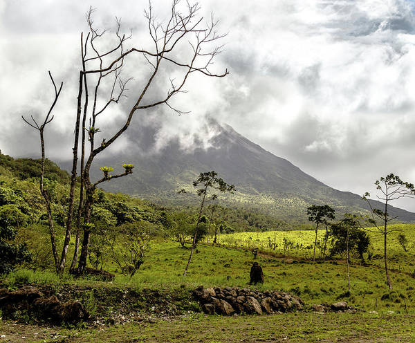 Photograph - Arenal Volcano, Costa Rica by Pete Hendley