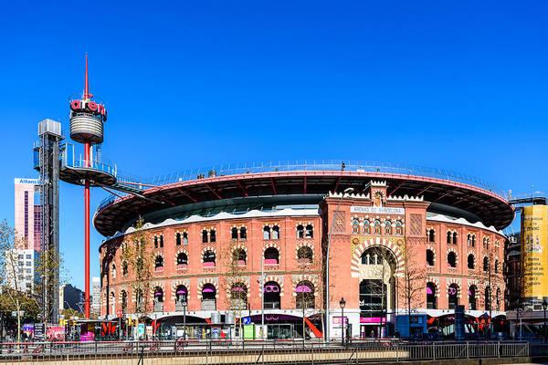Photograph - Arenas De Barcelona by Randy Scherkenbach