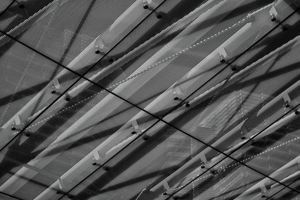 Photograph - Aria Hotel Canopy Abstract by Stuart Litoff