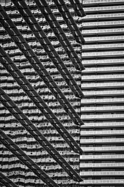 Photograph - Aria Window Reflections - Las Vegas by Stuart Litoff