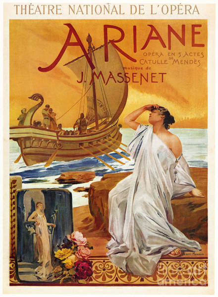 Painting - Ariane, 1906 by Granger