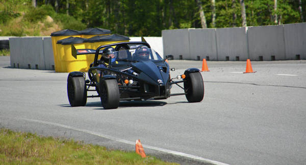 Whiskey Hill Wall Art - Photograph - Ariel Atom Approaching by Mike Martin