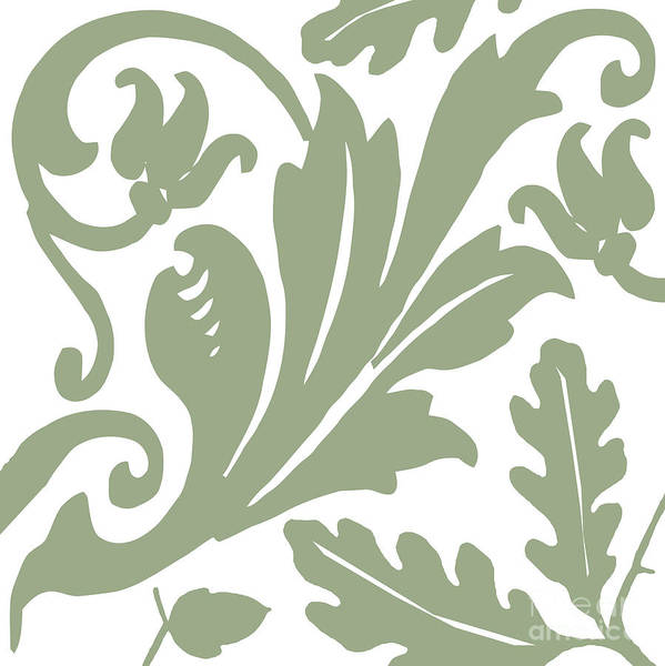 Artichokes Wall Art - Painting - Arielle Olive by Mindy Sommers