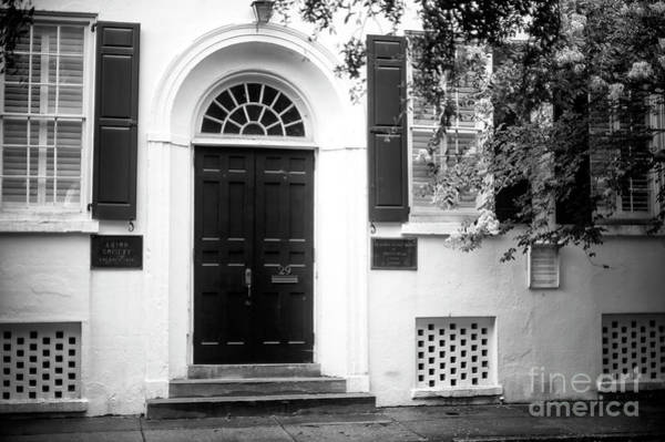 Photograph - Charleston Arion Society by John Rizzuto