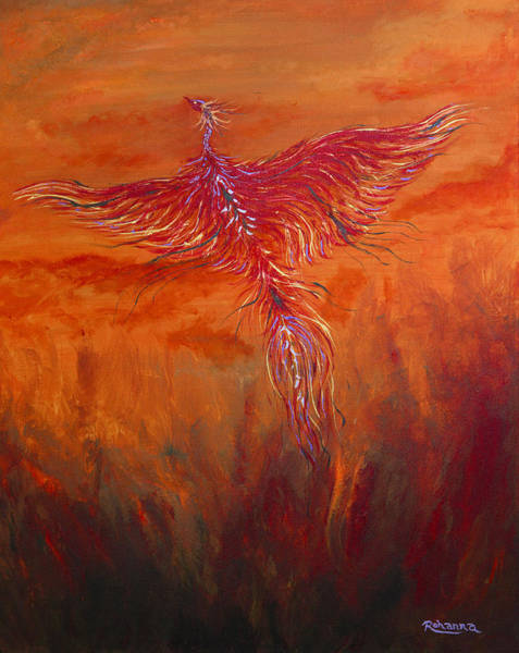 Arisen Painting - Arising From The Depths by Judy M Watts-Rohanna