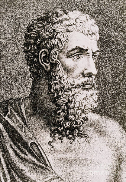 Photograph - Aristotle, Ancient Greek Philosopher by Science Source