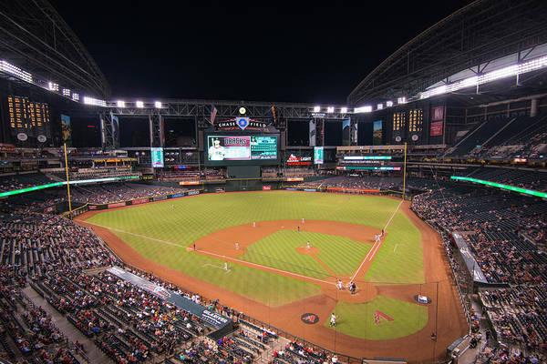 Photograph - Arizona Diamondbacks Baseball 2591 by David Haskett II