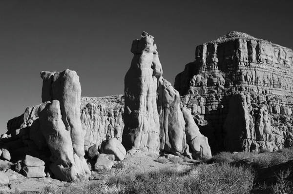 Photograph - Arizona Landscape IIi Bw by David Gordon