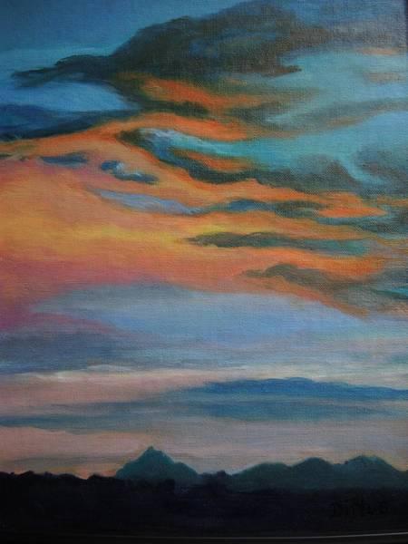 Wall Art - Painting - Arizona Sunset by Chrissey Dittus