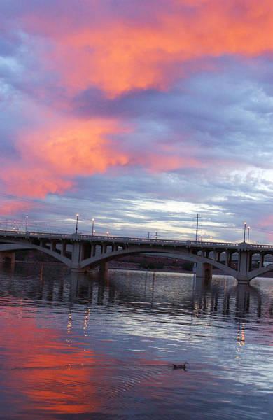 Photograph - Arizona Tempe Town Lake by Jill Reger