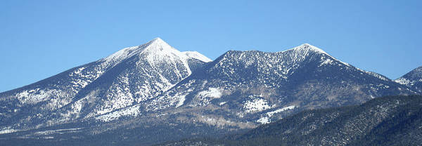 Wall Art - Photograph - Arizona's San Francisco Peaks In Winter by Derrick Neill