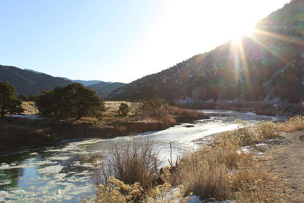 Wall Art - Photograph - Arkansas River After The Freeze by Weathered Wood