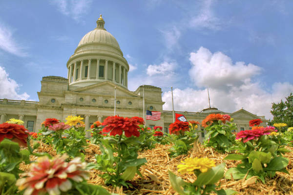 Photograph - Arkansas State Capitol - Little Rock by Jason Politte