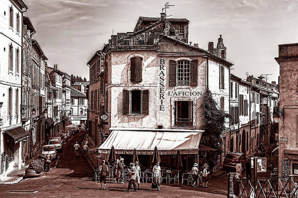 Photograph - Arles, France, In Sepia by Kay Brewer