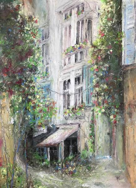 Painting - Arles by Robin Miller-Bookhout