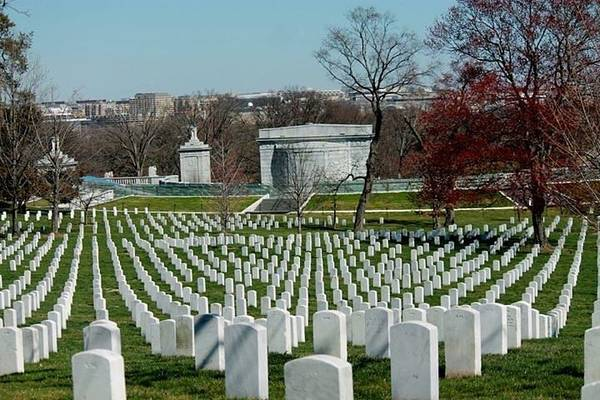 Photograph - Arlington Cemetery by Lily K