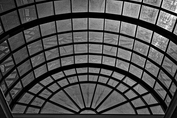 Photograph - Arlington Cemetery Visitor Center Skylight #2 by Stuart Litoff