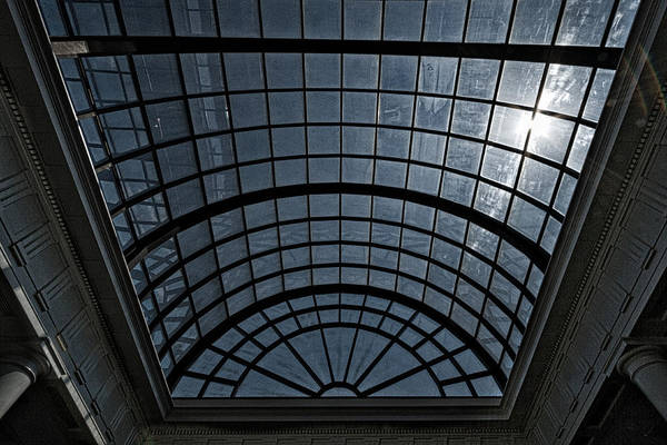 Photograph - Arlington Cemetery Visitor Center Skylight by Stuart Litoff