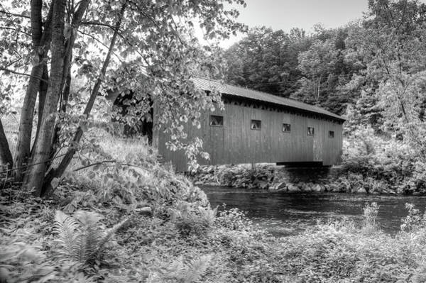 Photograph - Arlington Green Covered Bridge by Guy Whiteley