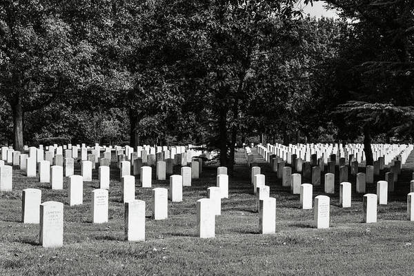 Photograph - Arlington National Cemetary by Brandon Bourdages