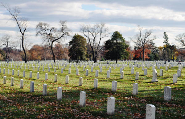 Department Of The Army Wall Art - Photograph - Arlington National Cemetery Landscape by Kyle Hanson