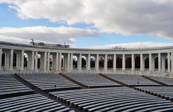 Department Of The Army Wall Art - Photograph - Arlington National Cemetery Memorial Amphitheater by Kyle Hanson
