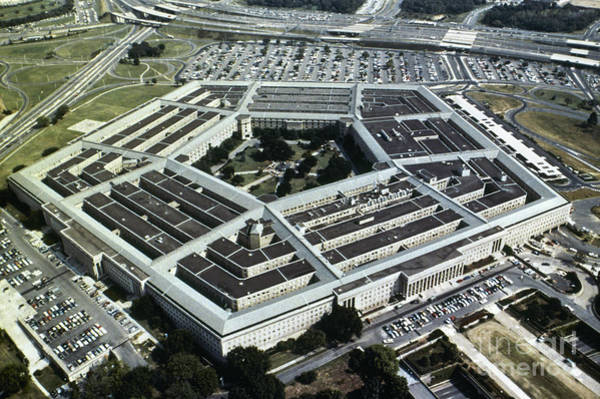 Department Of Defense Photograph - Arlington: Pentagon by Granger