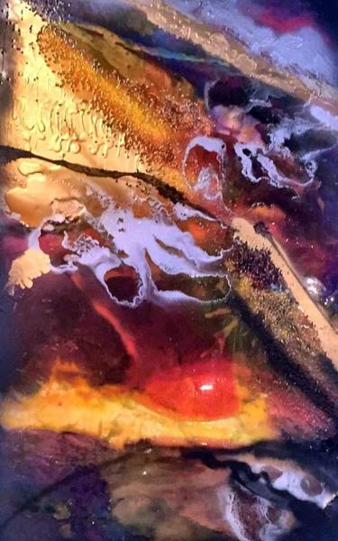 Destructive Painting - Armageddon-2016 by Gali Valkova
