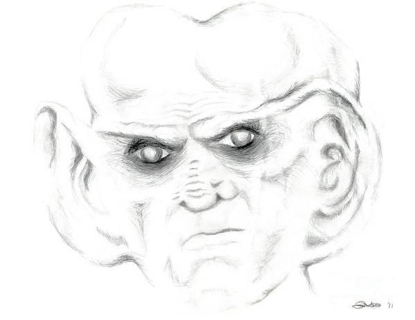 Ferengi Wall Art - Drawing - Armin by Kim Sy Ok