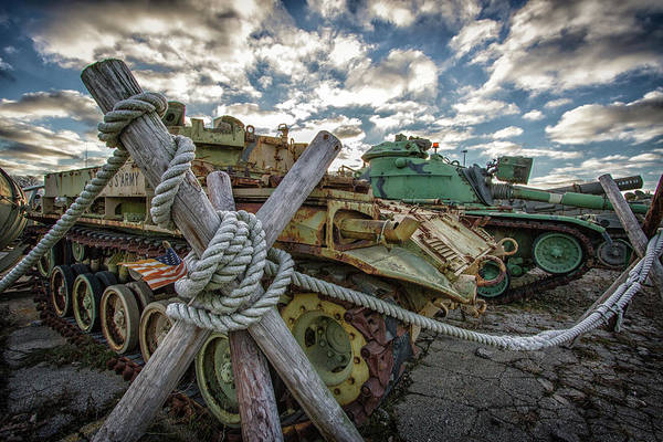 Wall Art - Photograph - Armored Vehicles by Mike Burgquist
