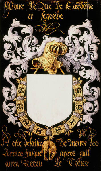 Pendant Painting - Armorial Plates From The Order Of The Golden Fleece - 14 by Lukas de Heere