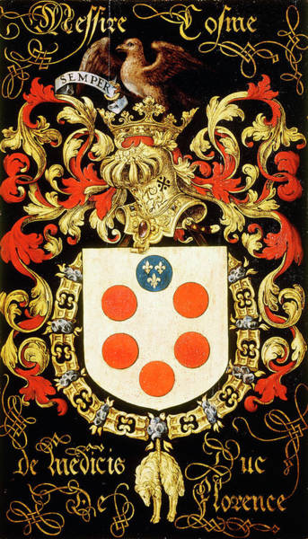 Pendant Painting - Armorial Plates From The Order Of The Golden Fleece - 28 by Lukas de Heere