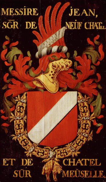 Pendant Painting - Armorial Plates From The Order Of The Golden Fleece - 38 by Lukas de Heere