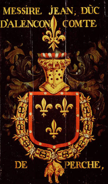 Pendant Painting - Armorial Plates From The Order Of The Golden Fleece - 40 by Lukas de Heere