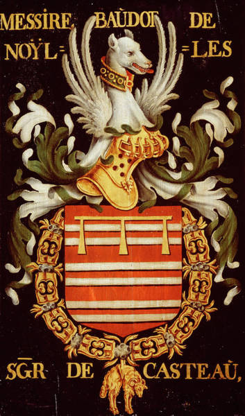 Pendant Painting - Armorial Plates From The Order Of The Golden Fleece - 43 by Lukas de Heere