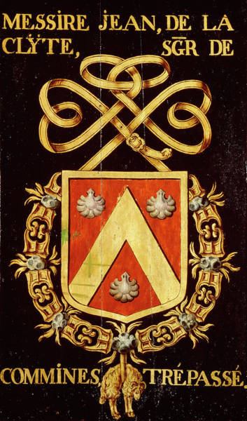 Pendant Painting - Armorial Plates From The Order Of The Golden Fleece - 47 by Lukas de Heere