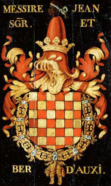 Pendant Painting - Armorial Plates From The Order Of The Golden Fleece - 54 by Lukas de Heere