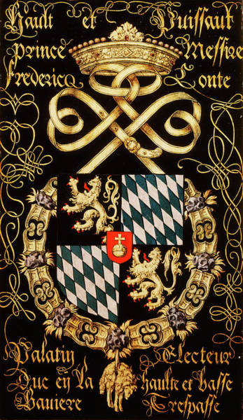 Pendant Painting - Armorial Plates From The Order Of The Golden Fleece - 84 by Lukas de Heere