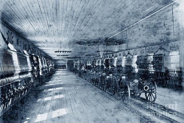 Photograph - Armory At U S Naval Academy 1870 by California Views Archives Mr Pat Hathaway Archives