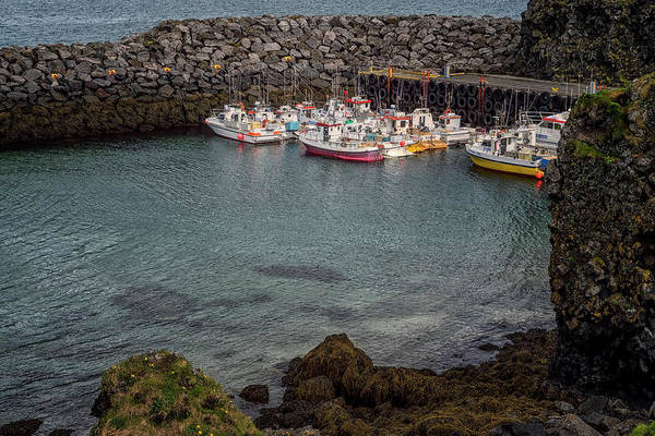 Photograph - Arnarstapi Fishing Boats by Tom Singleton