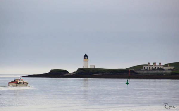 Photograph - Arnish Point Light by Rasma Bertz