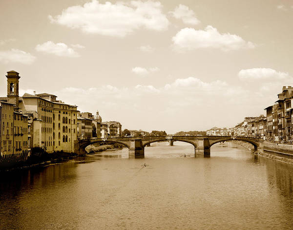 Photograph - Arno River Florence by Marilyn Hunt