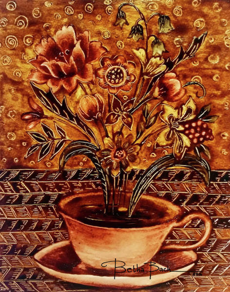 Wall Art - Painting - Aroma by Lilibeth Kindle