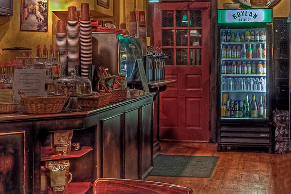 Photograph - Aromas Coffee In Williamsburg by Jerry Gammon