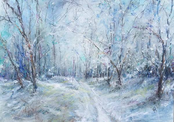 Painting - Around The Bend by Robin Miller-Bookhout