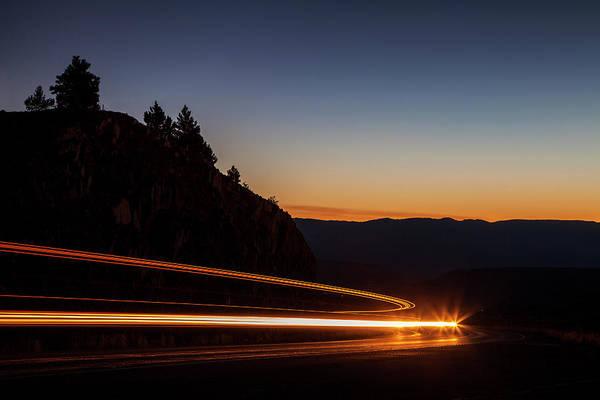 San Juan Mountains Photograph - Around The Curve by Andrew Soundarajan