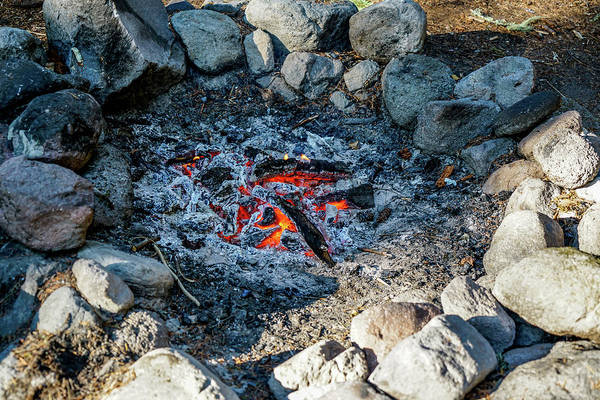 Summer Wall Art - Photograph - Around The Fire by Ric Schafer